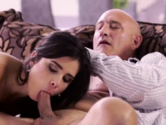 Vip4k. Old Man Gets Access To Mouth, Vagina