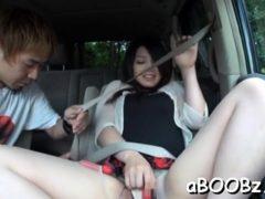 Sexual Busty Nipponese Girl Rie Suzumiya Banged Hard