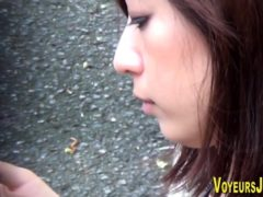 Japanese Babes Nipples Exposed Outdoors