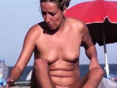 Nude Beach Voyeur Amateur Babes Spy Cam Video
