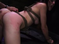 Anal Bondage Helpless Teenager Kaisey Dean Was On Her Way To