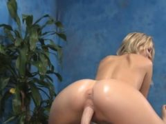 Horny Blondie Wih Tanlines Gets Her Bald Pussy Team-fucked