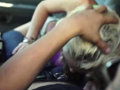 Webcam Couple Rough Halle Von Is In Town On Vacation With He