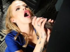 Magdalenas Ride In The Bathroom Anal Blonde Blowjob Cumshot
